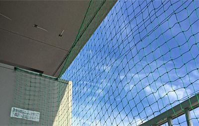 垂直張り:ベランダハーフタイプ